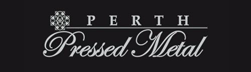 Perth Pressed Metal Logo